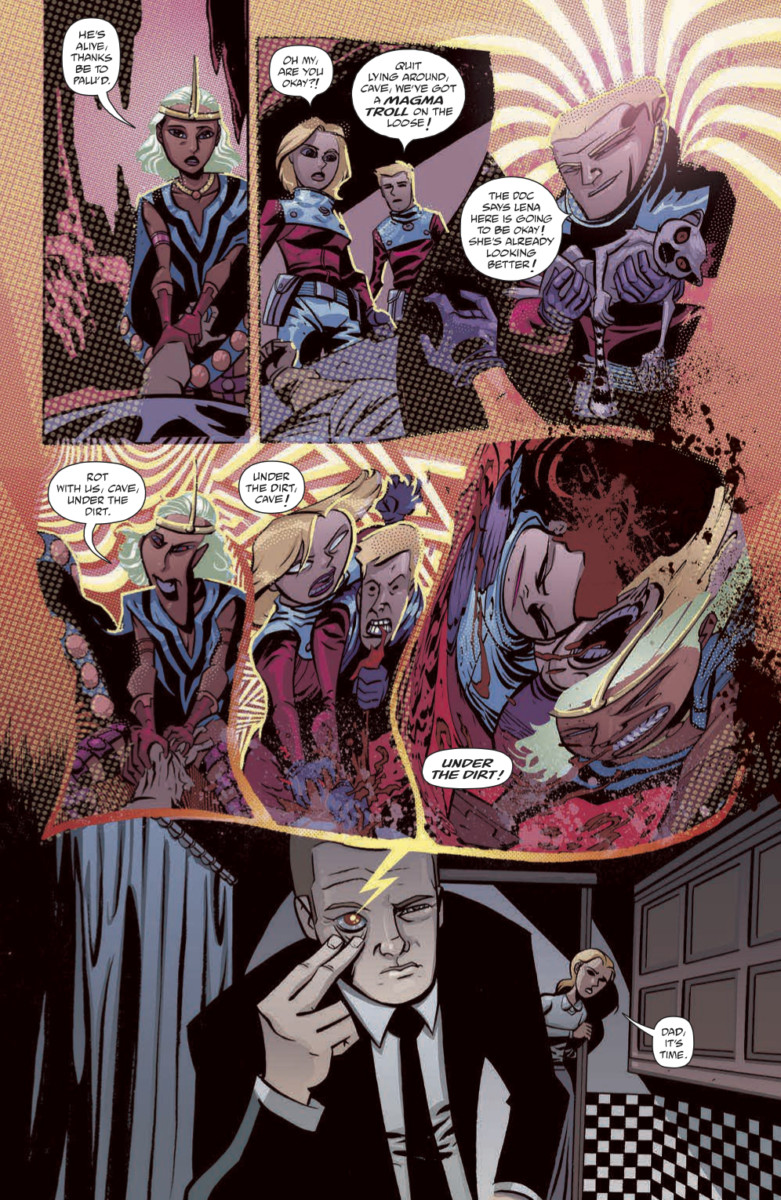 CAVE CARSON HAS A CYBERNETIC EYE Vol 1 Page 8
