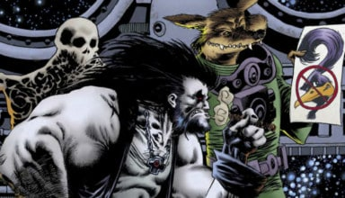 LOBO ROAD RUNNER SPECIAL #1 Cover Feature