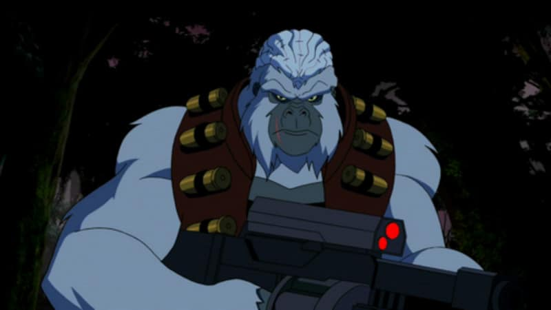 Ultra - Humanite - Young Justice - Forgotten Apes