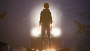 LIFE IS STRANGE: BEFORE THE STORM Chloe in front of train