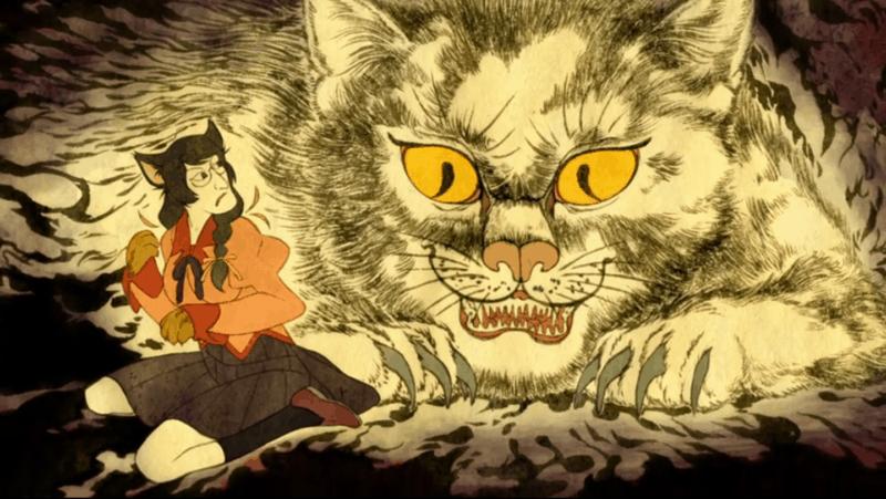 Screenshot, NEKOMONOGATARI: BLACK, Episode 3 - Crunchyroll