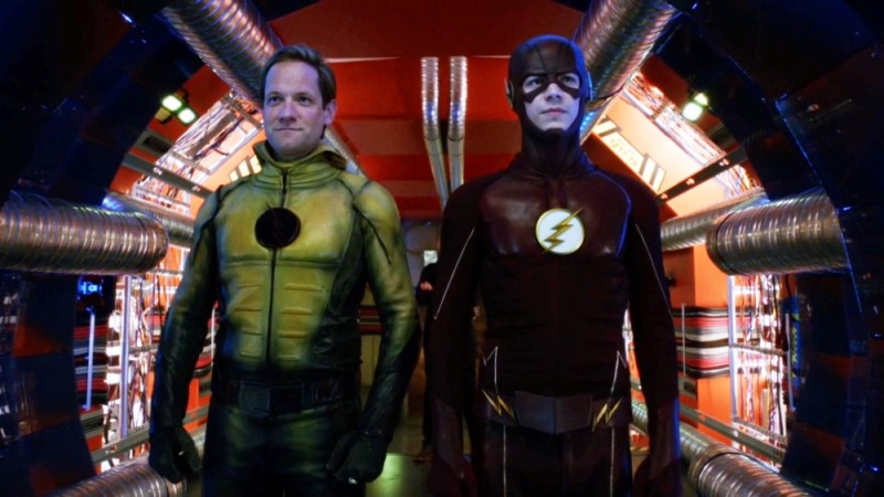 Reverse Flash And Barry Allen