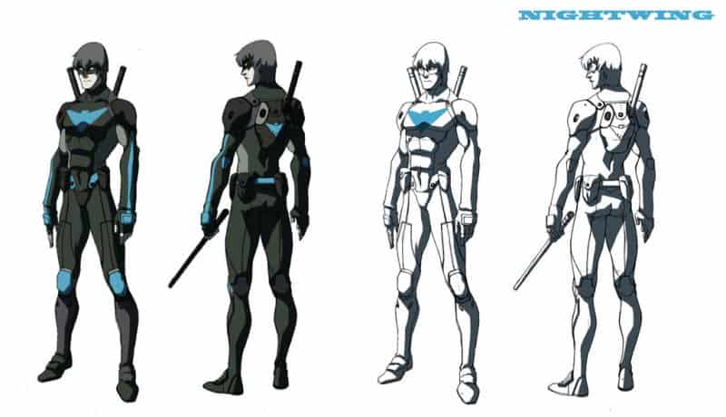 Nightwing Anime Concept