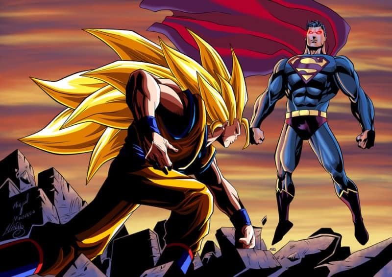 Goku vs Superman, The Most Legendary Battle EVER