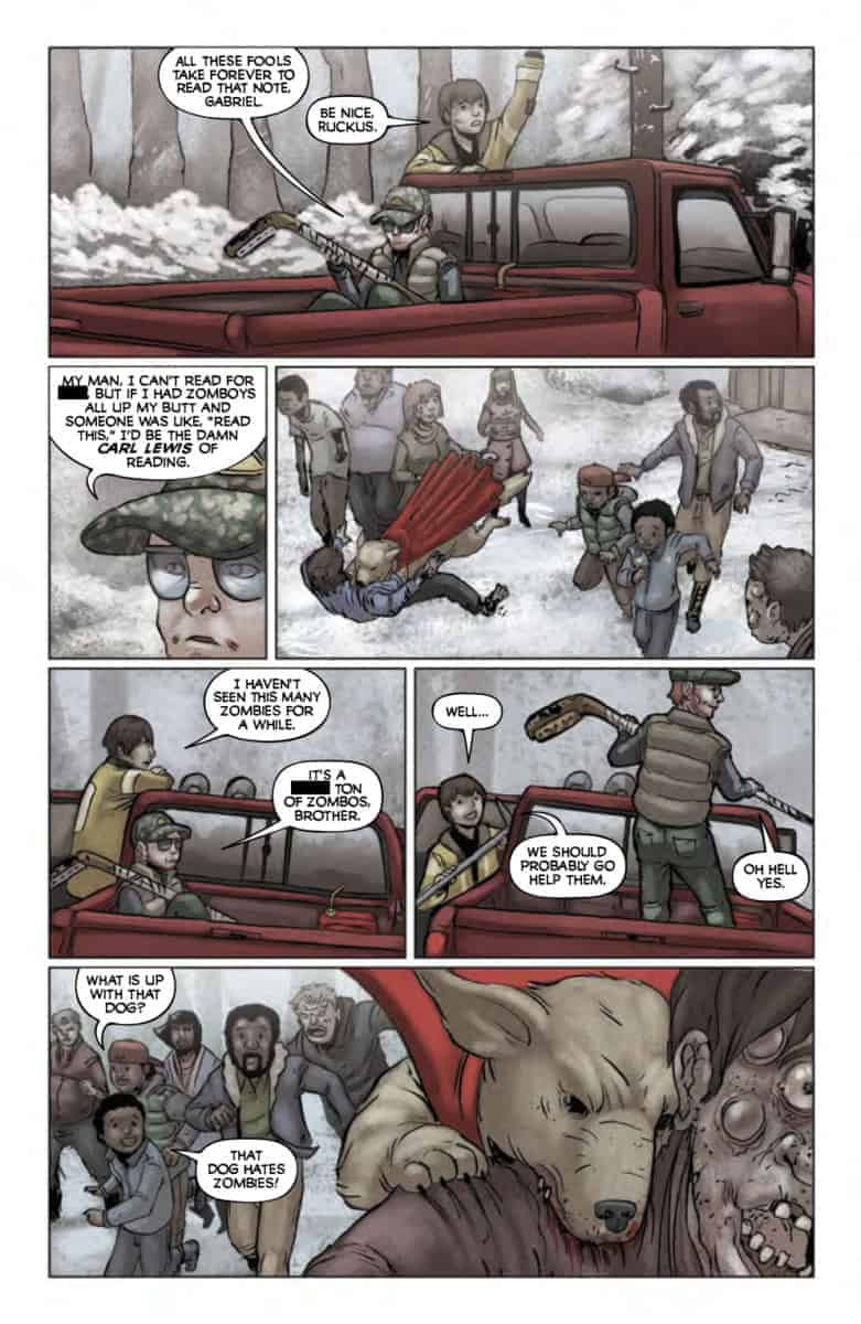 DEAD OF WINTER #1