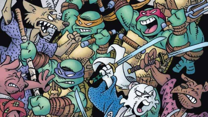 TEENAGE MUTANT NINJA TURTLES/USAGI YOJIMBO #1