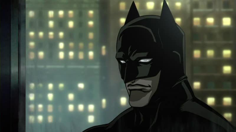 Anime Batman Smirk