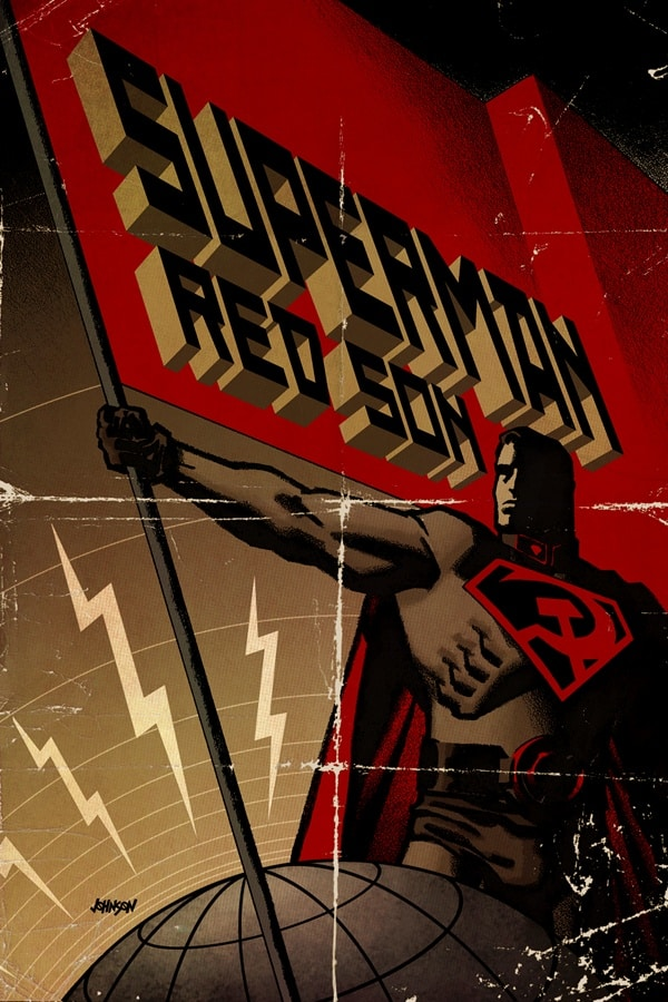 RED SON, DC, ELSEWORLD