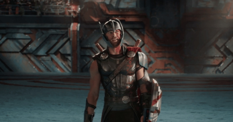 Thor in the fighting pit THOR: RAGNAROK