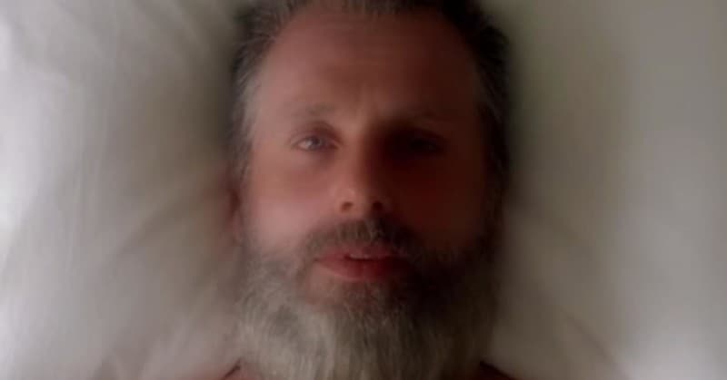 Old Man Rick Grimes THE WALKING DEAD Season 8