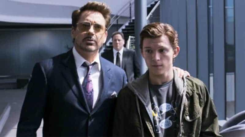 Spider-Man: Homecoming Tony and Peter