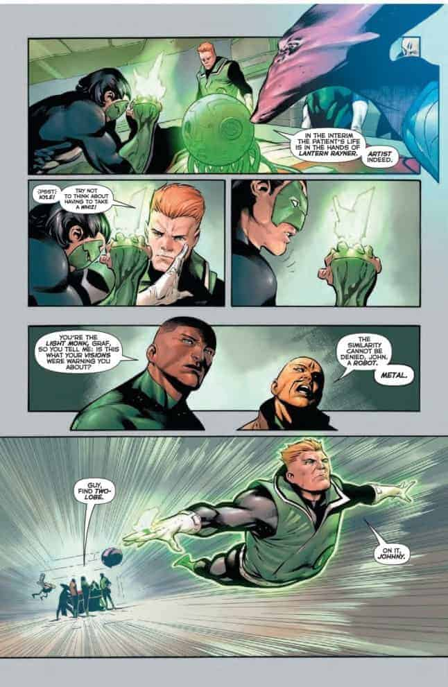 HAL JORDAN AND THE GREEN LANTERN CORPS #27