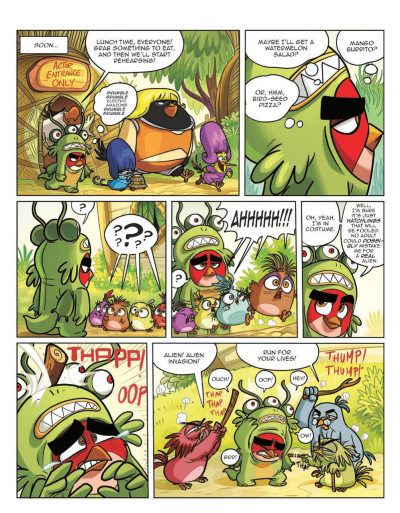 Angry Birds: Furious Fowl