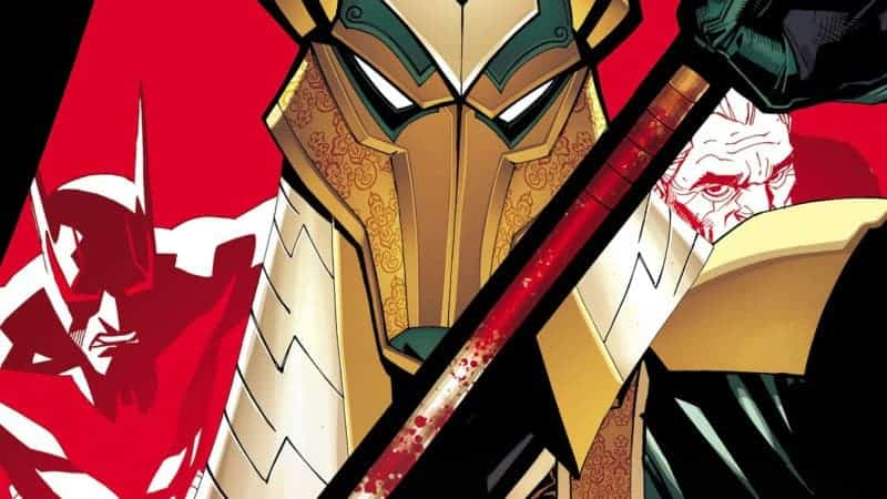 BATMAN BEYOND #11 Preview