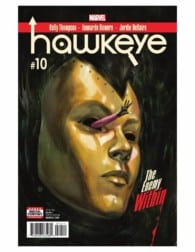 HAWKEYE #10 By Kelly Thompson