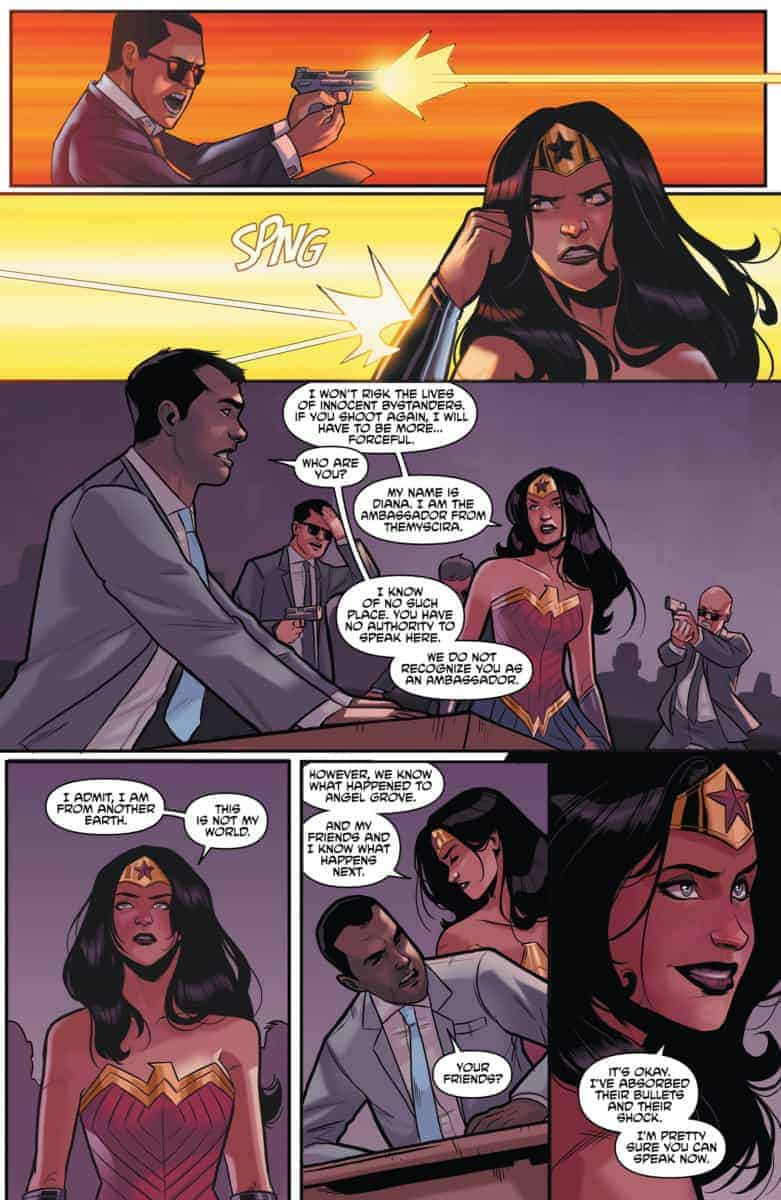 JUSTICE LEAGUE/POWER RANGERS #5 Preview