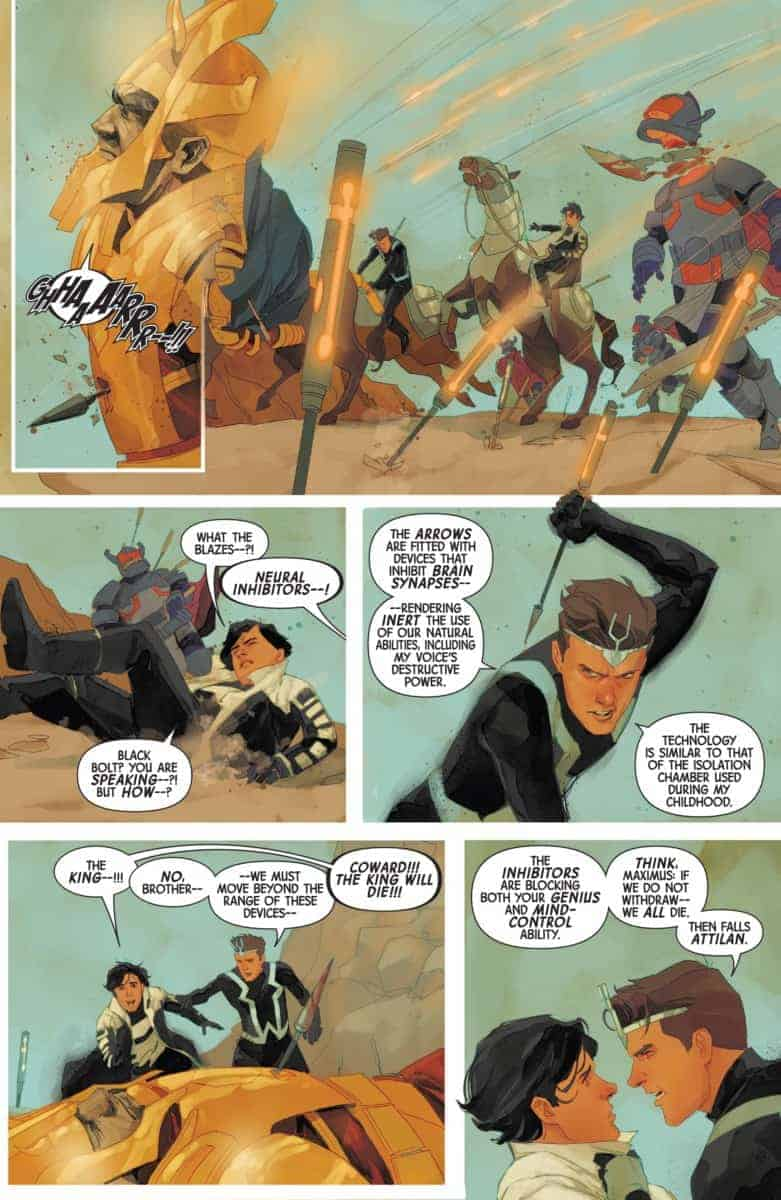 INHUMANS ONCE AND FUTURE KINGS #1