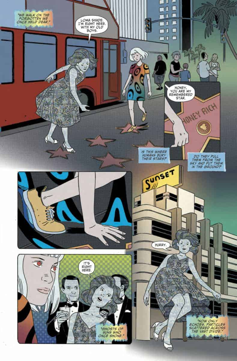 Marley Zarcone Shade the Changing Girl #11 Page one