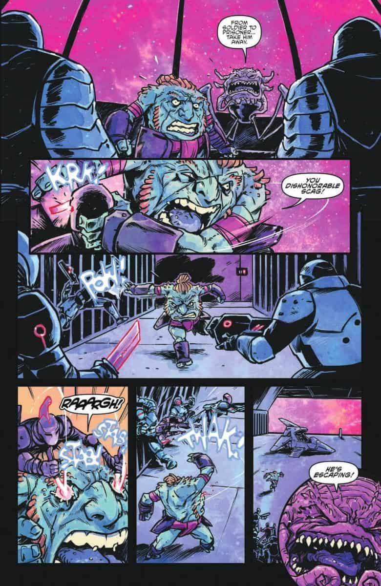 TEENAGE MUTANT NINJA TURTLES DIMENSION X #2
