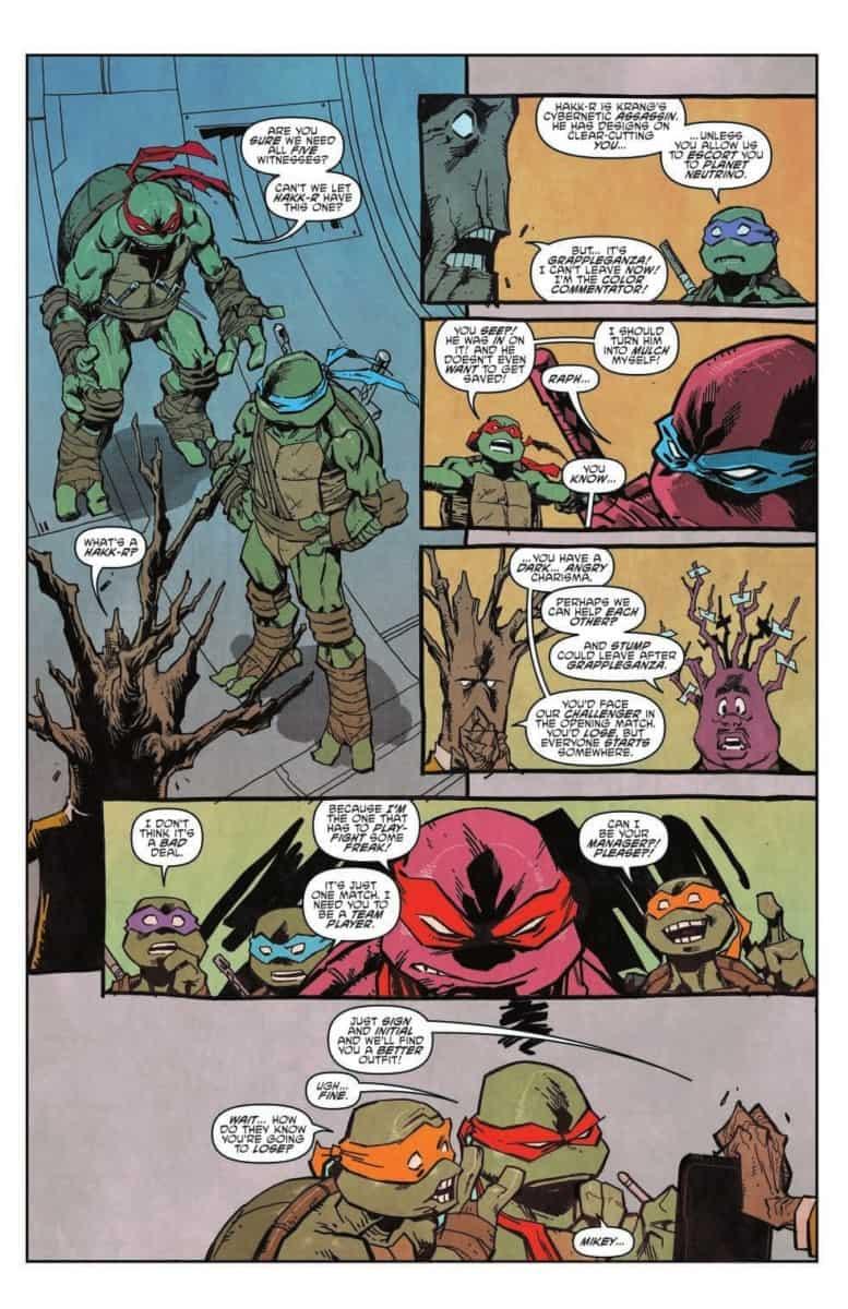 TEENAGE MUTANT NINJA TURTLES DIMENSION X #3