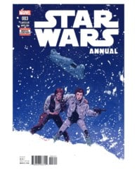STAR WARS ANNUAL #3, cover. Courtesy of Marvel Entertainment.