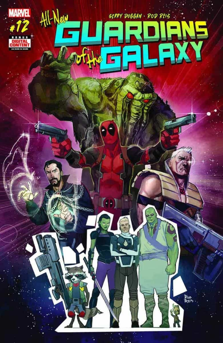An Unknown Avenger Joins Marvel's Guardians of the Galaxy in ALL-NEW GUARDIANS OF THE GALAXY #12