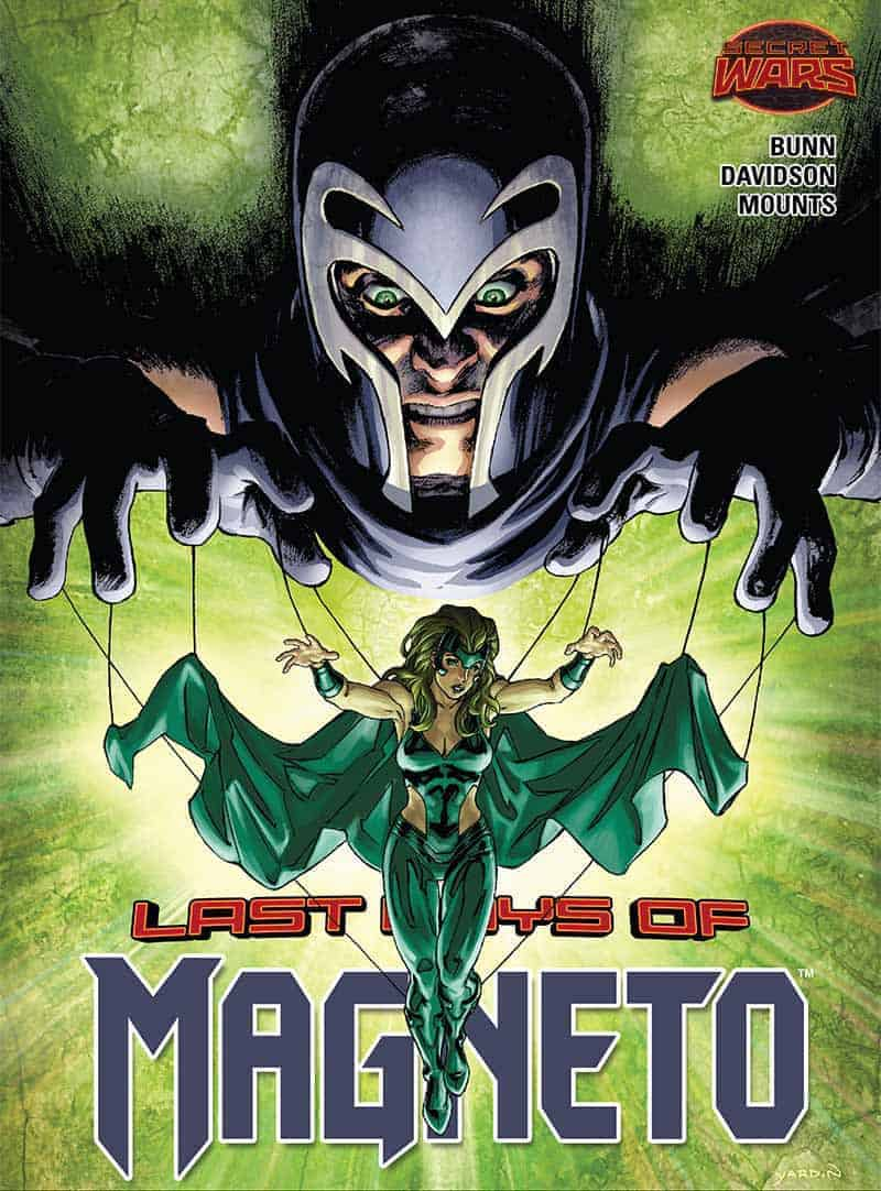 Polaris on the cover of MAGNETO #20.