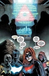 Page 4 of RED HOOD AND THE OUTLAWS #15. Image courtesy of DC Entertainment.