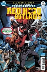 Cover art of RED HOOD AND THE OUTLAWS #15. Image courtesy of DC Entertainment.