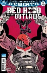 Variant cover art of RED HOOD AND THE OUTLAWS #15. Image courtesy of DC Entertainment.