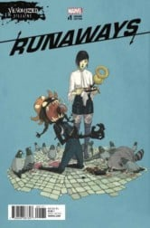 RUNAWAYS #1 is one of the comics this week coming out!