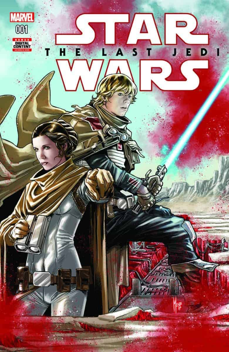 Star Wars the Last Jedi The Storms of Crait #1