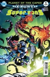 Super Sons #8 Exclusive Preview Cover