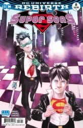 Super Sons #8 Exclusive Preview Variant Cover
