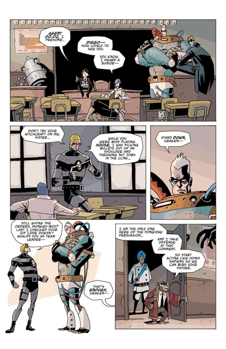 The Umbrella Academy issue 2 Page 11