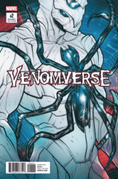 VENOMVERSE #2, Variant Cover. Image Courtesy of Marvel Entertainment.