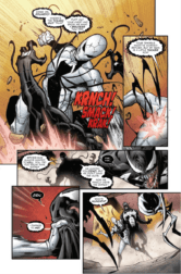 VENOMVERSE #2, Page 3. Image Courtesy of Marvel Entertainment.