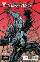 VENOMVERSE #2, Cover. Image Courtesy of Marvel Entertainment.
