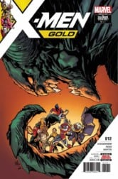 best new comics - X-MEN GOLD #12, cover. Courtesy of Marvel Entertainment.