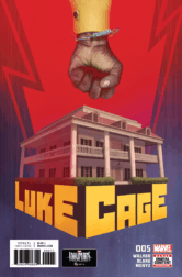 LUKE CAGE #5, cover. Courtesy of Marvel Entertainment.