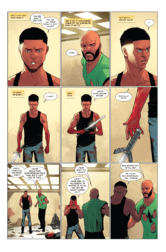 LUKE CAGE #5, page 4. Courtesy of Marvel Entertainment.