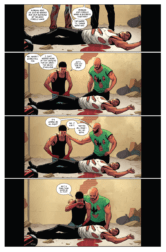LUKE CAGE #5, page 5. Courtesy of Marvel Entertainment.