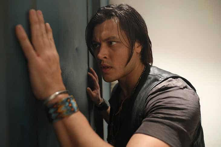 Blair Redford as John Proudstar aka Thunderbird in Fox's THE GIFTED.