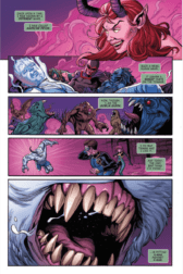 X-MEN BLUE #11. Page 2. Image Courtesy of Marvel Entertainment.