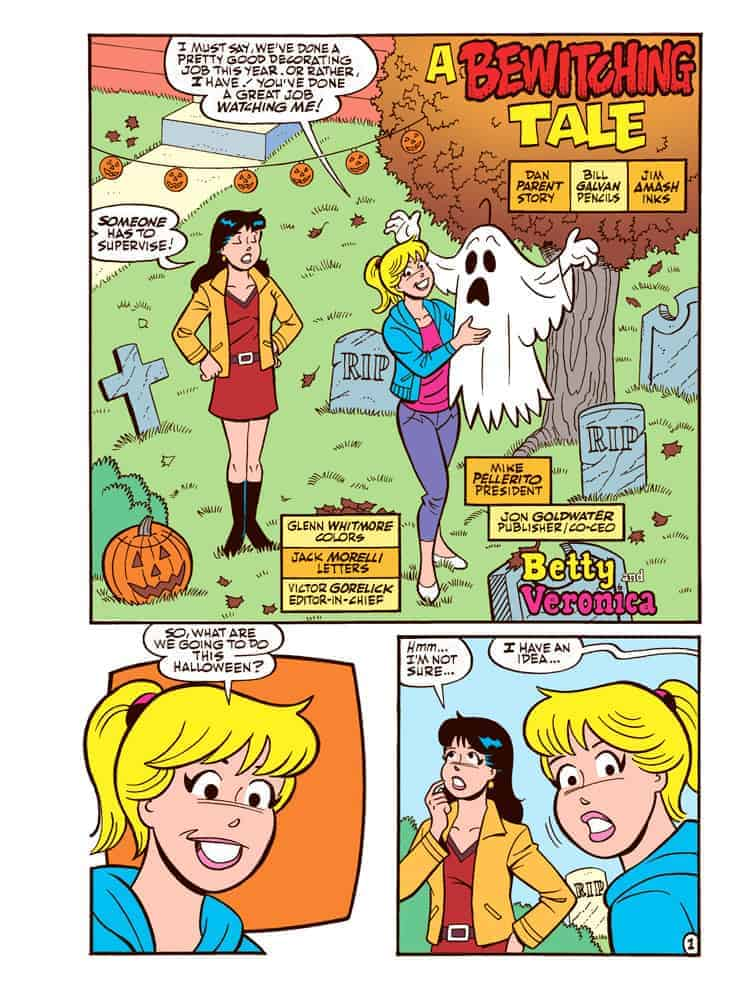 BETTY AND VERONICA HALLOWEEN ANNUAL #257