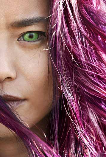 Jamie Chung as Blink on THE GIFTED.