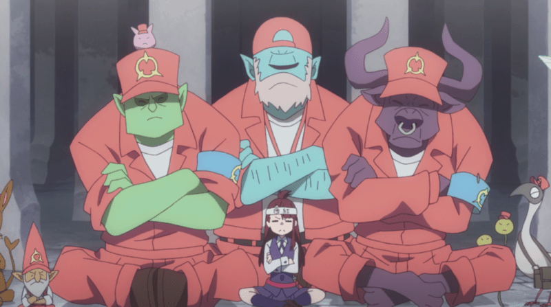 LITTLE WITCH ACADEMIA beasts