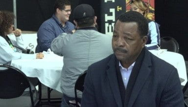 Carl Weathers NYCC 2017