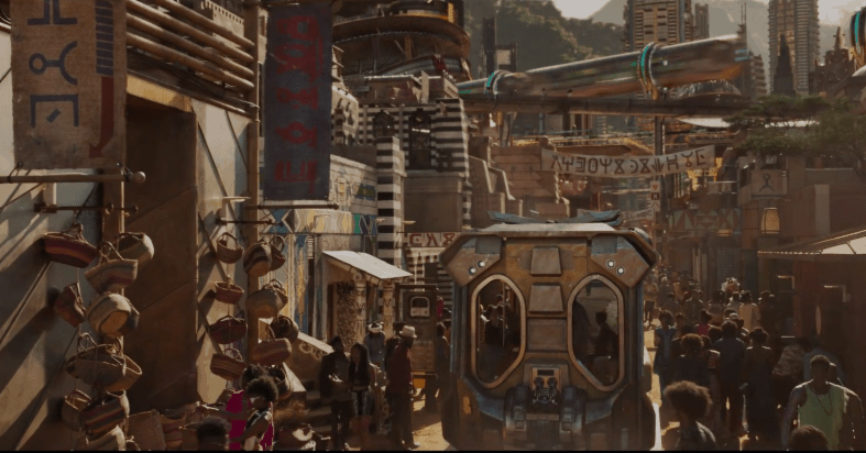 A city inside Wakanda BLACK PANTHER