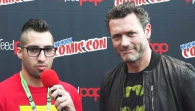 Jason O'Mara at NYCC 2017 with ComicsVerse